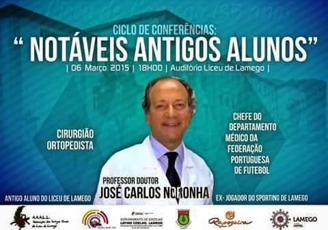 Ciclo de Conferências - Notáveis Antigos Alunos - Prof. Doutor José Carlos Noronha