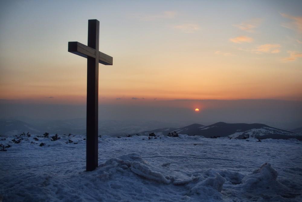 Zachód słońca na Pilsku