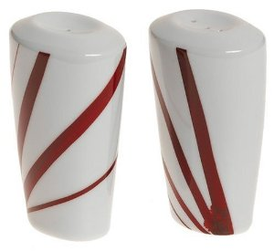 Mikasa Pure Red fine china salt & pepper set