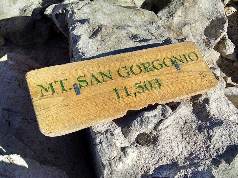 Mount San Gorgonio • Summit