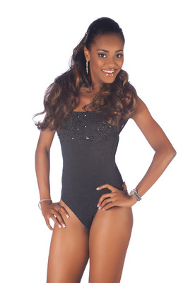 Miss Universe 2011 Official Swimsuit Swimwear Portraits Saint Lucia Joy Ann Biscette