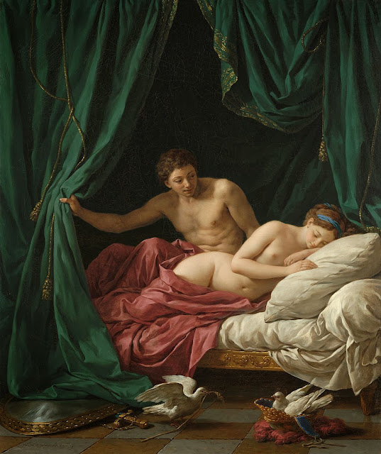 Louis-Jean-François Lagrenée - Mars and Venus, Allegory of Peace.