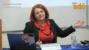 Dr. Csátaljay Zsuzsanna:<br>Ingatlan értékesítés, bérbeadás esetén az adómentes körbe<br>történő visszatérés kapcsán felmerülő korrekciós kötelezettség