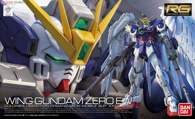 Sản phẩm Wing Gundam Zero Endless Waltz RG 1/144 cho trẻ trên 15 tuổi