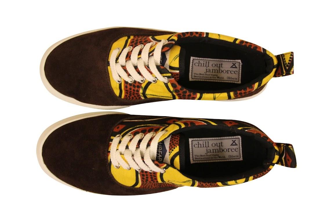 *02DERIV.的KITENGE花紋布系列登場:當非洲大地風格就穿在你的頭跟腳! 5