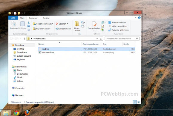 activar transparencia windows 8