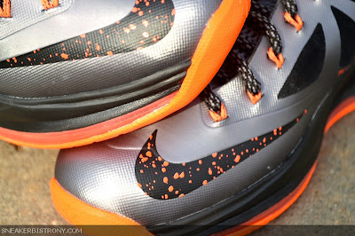 nike lebron 10 gr silver black orange 3 06 Detailed Look at Lava Nike LeBron X That Drops on Saturday