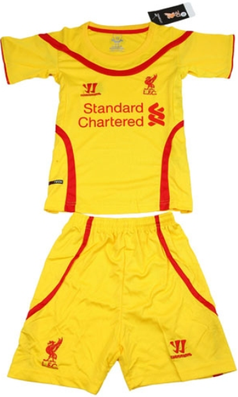 Jersey Kids Liverpool Away 2014-2015