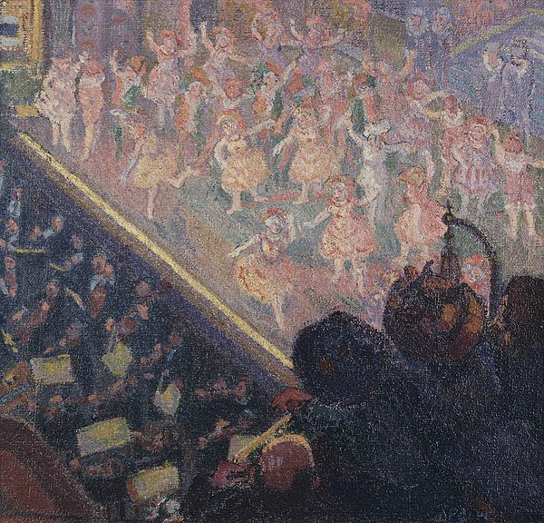 Spencer Gore - The mad Pierrot ballet at the Alhambra 1911