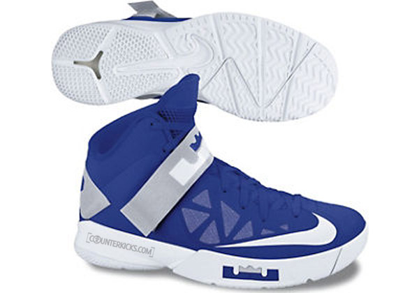 Nike Zoom LeBron Soldier VI 6 8211 Team Banks Fall 2012