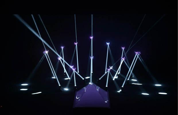 'Meet Your Creator' Robot Lightshow