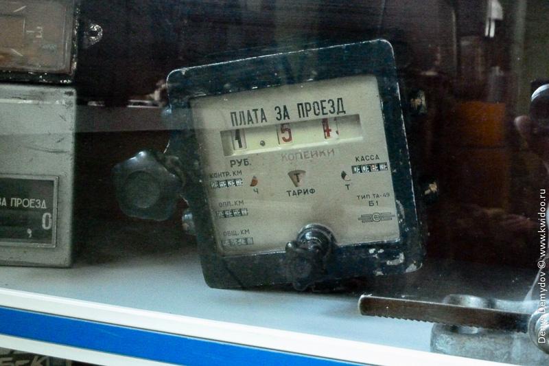 Счетчик для такси советского образца