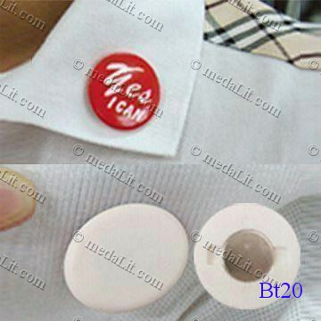 Magnetic Round Chrome-plated Badges (used for Fridges or White Board) and backside magnetic attach to replace safety pin Features: •Shell: chrome  •Bottom: ABS or chrome-plated mylarTM disc  •With printed photo or design  placed inside/full-color printing   •Round: 1-inch (mm 25), •1 1/2-inch (mm 37) •1 3/4-inch (mm 44) •2 1/5-inch (mm 56), Also available with safety pin.  medaLit.com - Absi Co