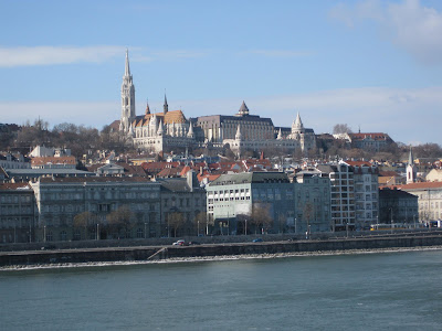 The view of Matthias Church and the Fisherman's Bastion