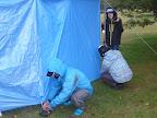 暴風雨の中、テント設置 UP 2011-10-28T01:10:06.000Z