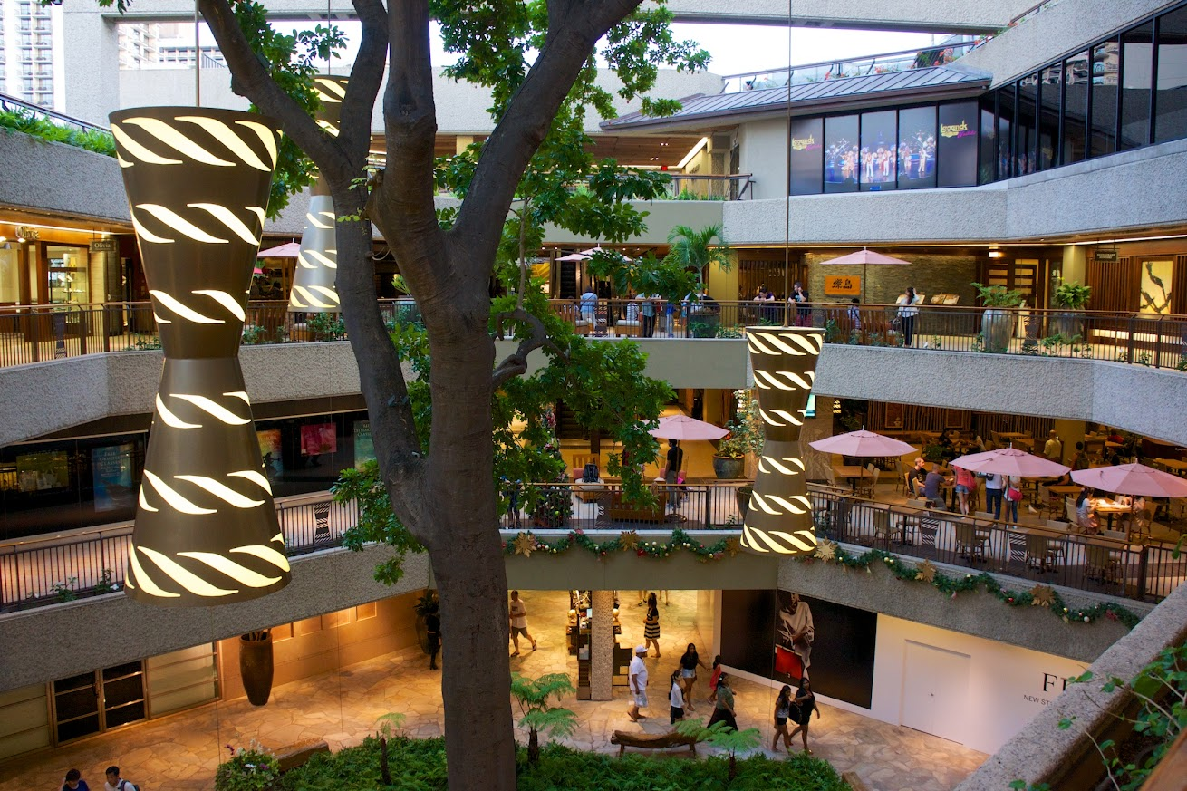 ロイヤル・ハワイアン・センターB館3階