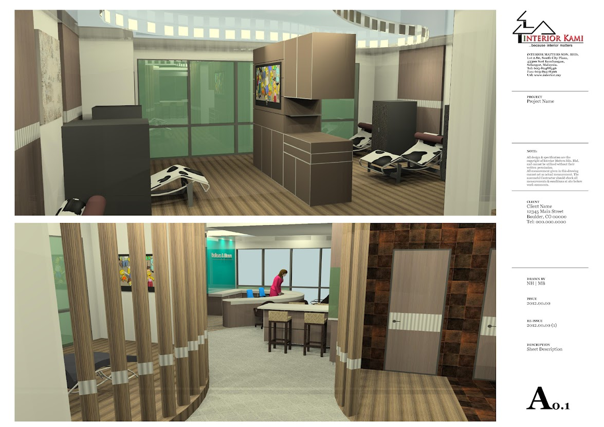 treament area and pantry