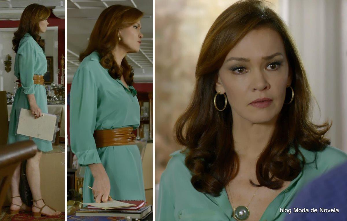 moda da novela Em Família - look da Helena dia 16 de junho