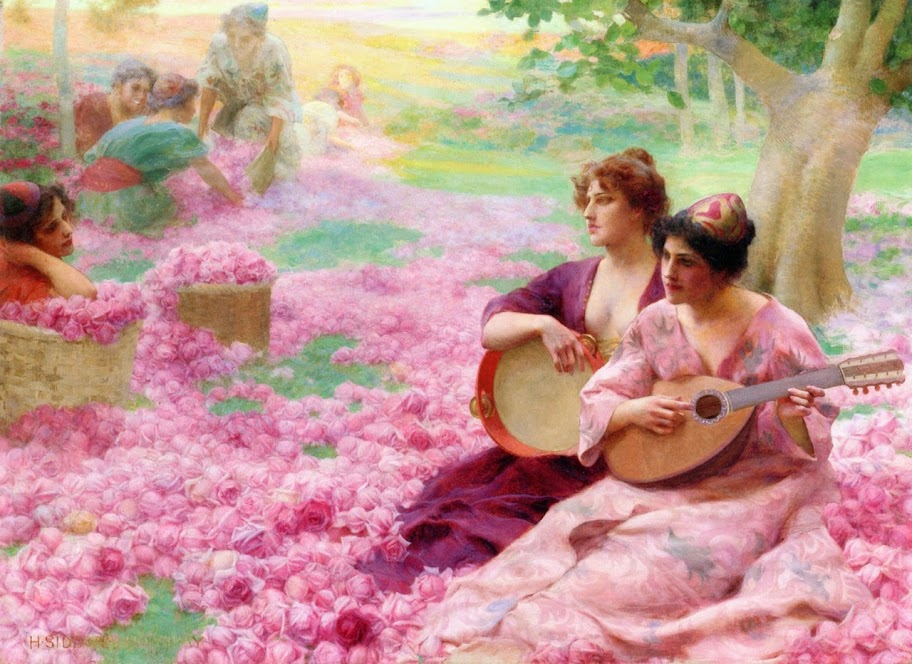 Henry Siddons Mowbray - The Rose Festival