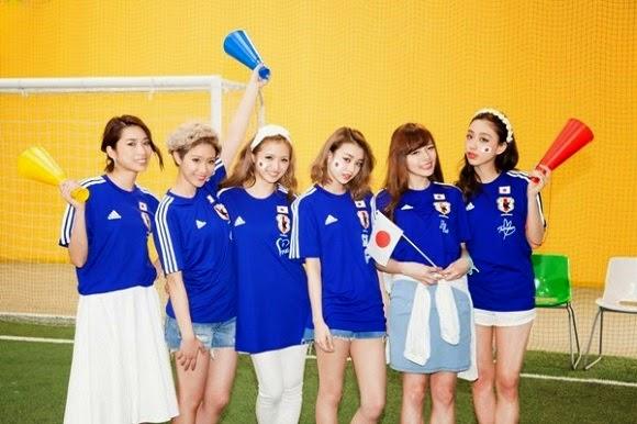 Supporter Cewek Timnas Jepang