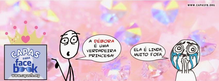 Capas para Facebook Débora