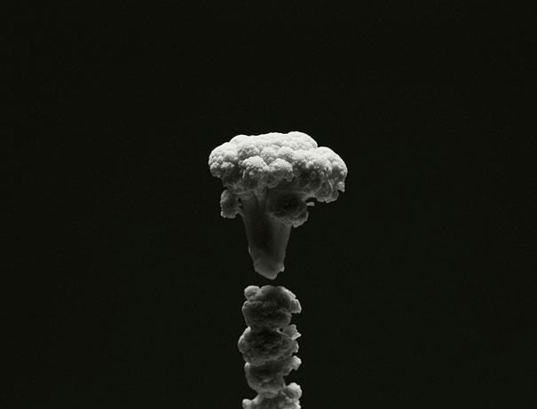 уникални форми от храна - карфиол нагазаки