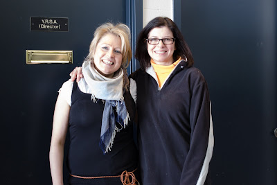 YRSA Founder Joanne McLeod and Skating Director Tracey Wainman