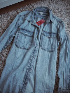 shirt, denim, berlin, shopping, forever 21, blue