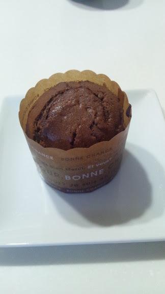板チョコカップケーキ