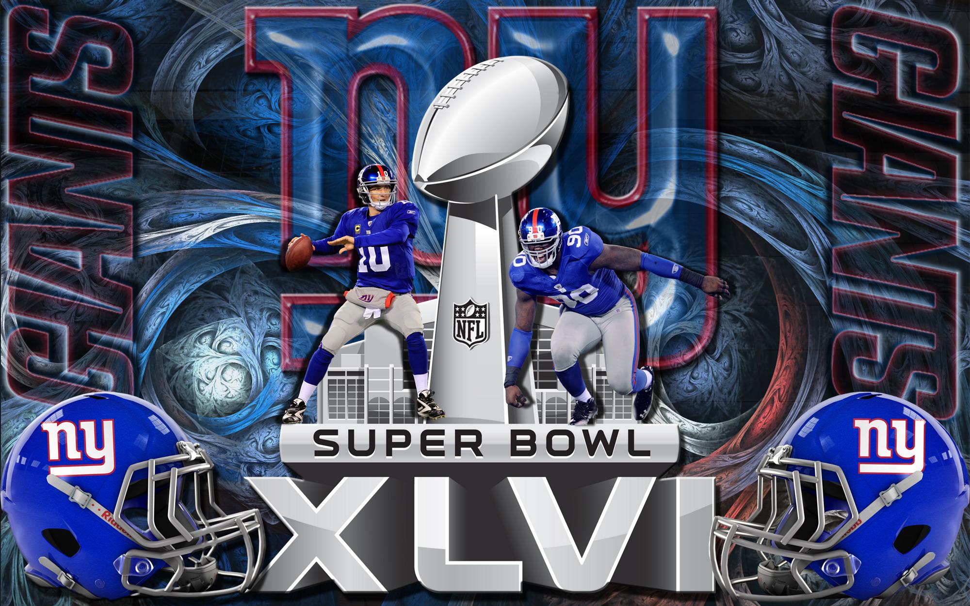 New York Giants Super Bowl Wallpaper