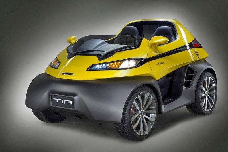 New Delhi 2014 Dc Design Presents Tia Microcar And Eleron Suv