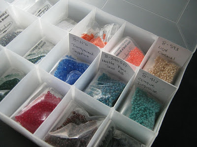 Seed Bead Storage Tray