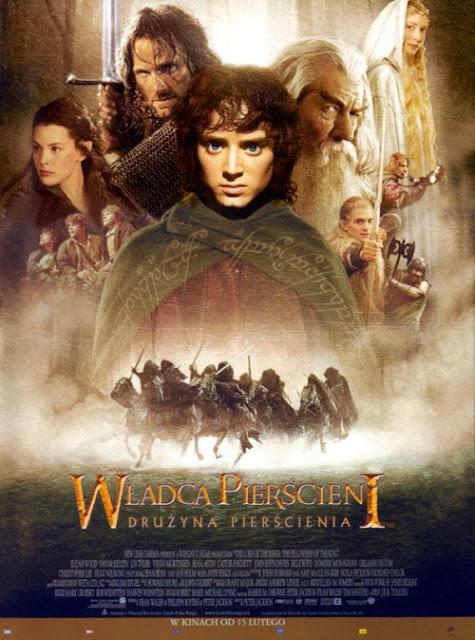 Plakat filmu: Władca Pierścieni: Drużyna Pierścienia