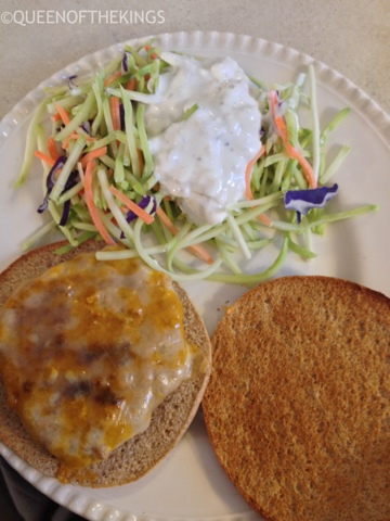 Queen of the Kings: Buffalo Turkey Burgers with Blue ...