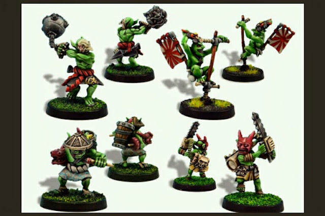 Goblins armas secretas Blood Bowl Greebo