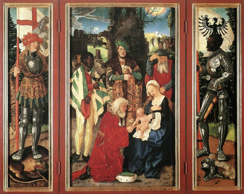 Hans Baldung - Adoration of the Magi