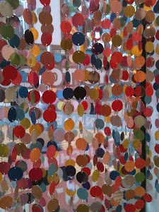 Multicoloured curtain