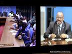 Vidéo conférence de l'Onu du 12/11/2014 à Kinshasa. Radio Okapi/Ph. John Bompengo