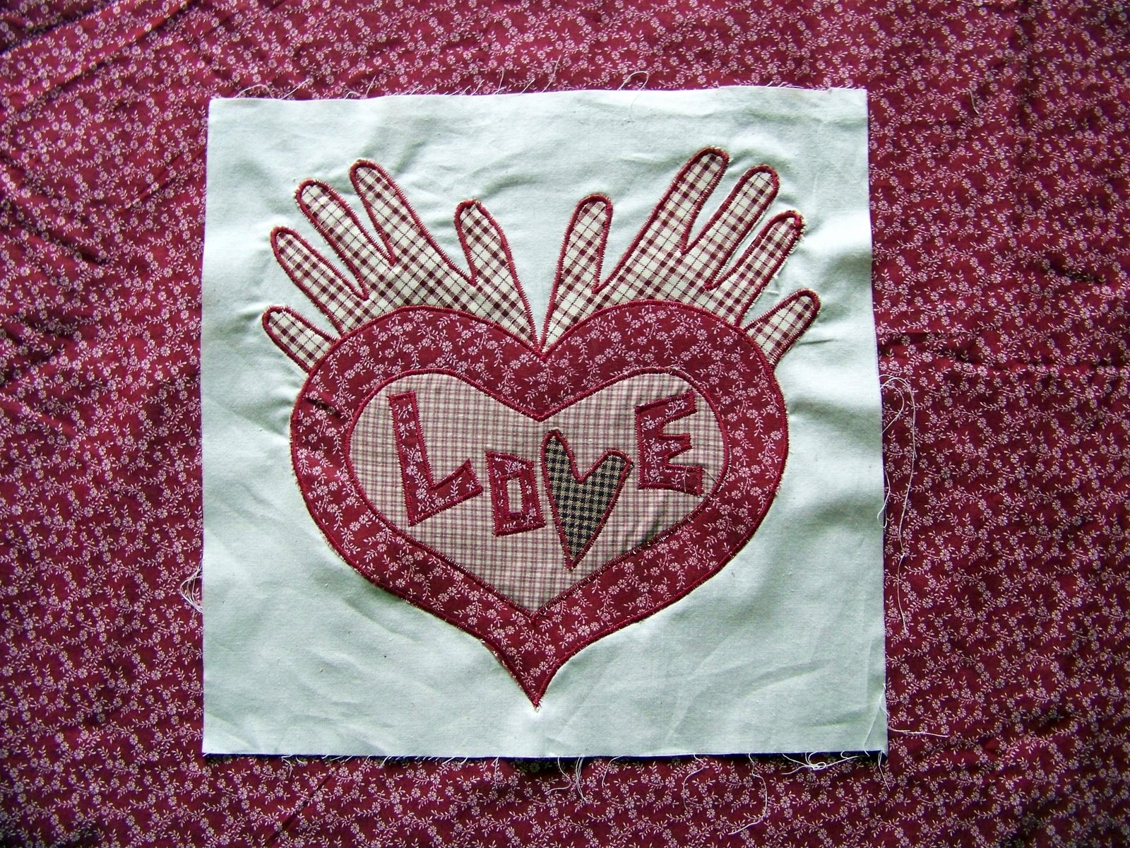 Free Heart Quilt Block Patterns : Michele Bilyeu Creates *With Heart and Hands*: The Healing Art of Sewing and Quilting