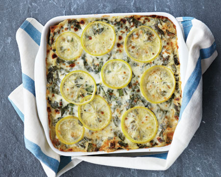 The Symphony of Life: Lemon, sausage and chard lasagna