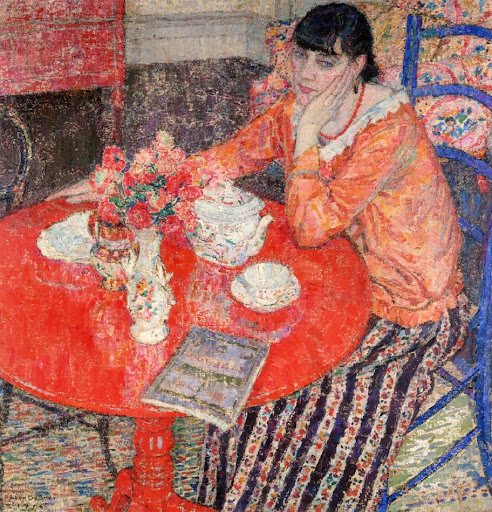 Leon De Smet - The Red Table