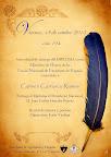 Cartel de 'Miembro de Honor' realizado por Carmina Andrés