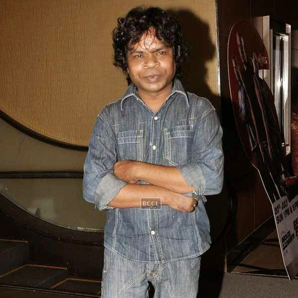 Omkar Das Manikpuri at the premiere of Bollywood movie Pizza, held at PVR in Mumbai, on July 17, 2014.(Pic: Viral Bhayani)