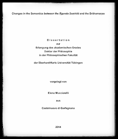 [Mucciarelli: Changes in the Semantics ..., 2014]