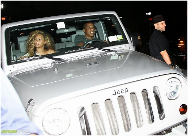 Famous people driving Jeeps!