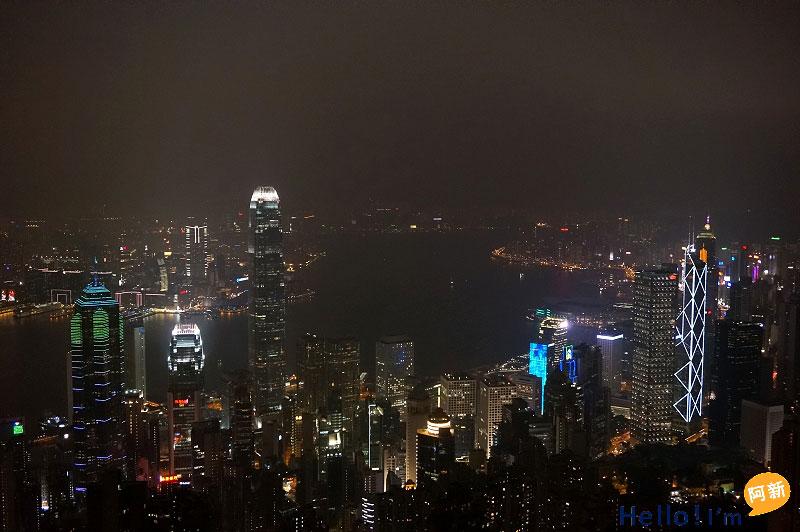 香港太平山夜景-7