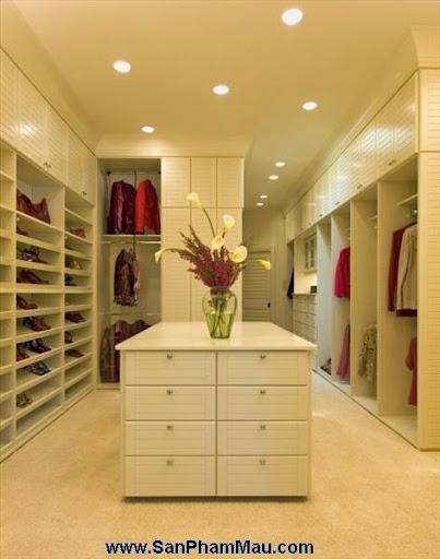 <strong><em>Thiết kế tủ quần áo</em></strong> - Phòng thay đồ-4