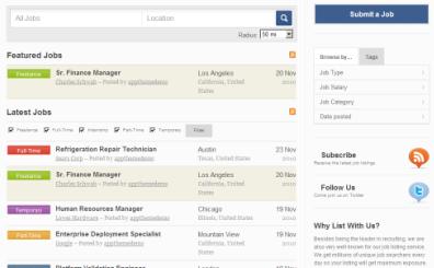 Crear un sitio de empleos en WordPress