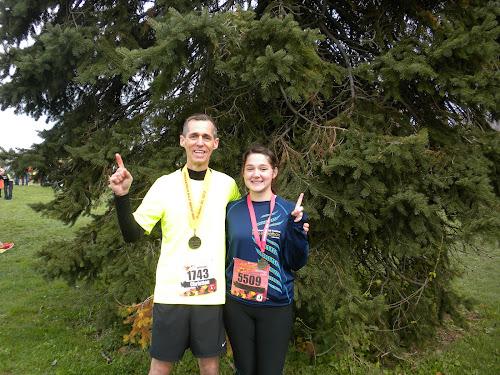 2012 Indianapolis Marathon and Half Marathon.