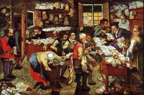 De belastinginner van Pieter Brueghel de Jonge